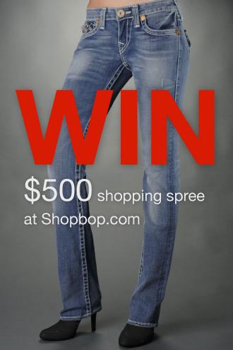 Win $500 Shopbop Shopping Spree